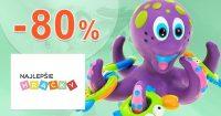 Zľavy na hračky až do -80% na NajlepsieHracky.sk