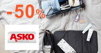 Zľavy na kufre a tašky až -50% na asko-nabytok.sk