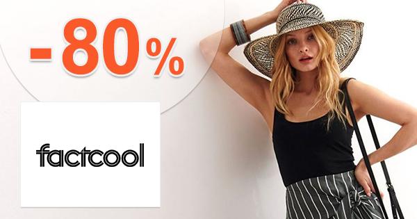 Zľavy na letný sortiment až -80% na FactCool.sk