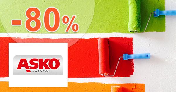 Zľavy na maliarske potreby až -80% na asko-nabytok.sk