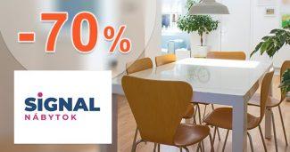 Zľavy na nábytok až do -70% na SIGNAL-nabytok.sk