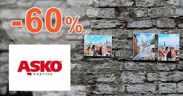 Zľavy na obrazy až -60% na ASKO-nabytok.sk