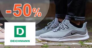 Zľavy na pánsku obuv až -50% na Deichmann.sk