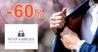 Zľavy na peňaženky až -60% na NovaKabelka.sk