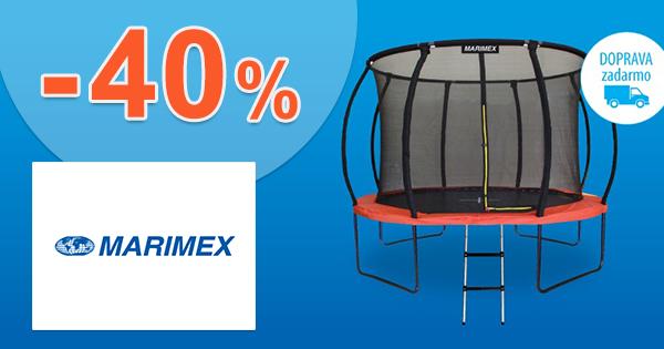 Zľavy na trampolíny až -40% na Marimex.sk