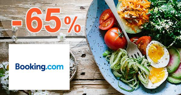 Zľavy na ubytovanie s raňajkami až -65% na Booking.com