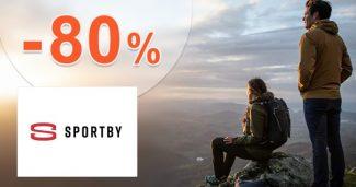 Výpredaj tovaru a zľavy až do -80% na Sportby.sk