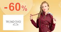Zľavy vo výpredaji až -60% na Trendovo.sk