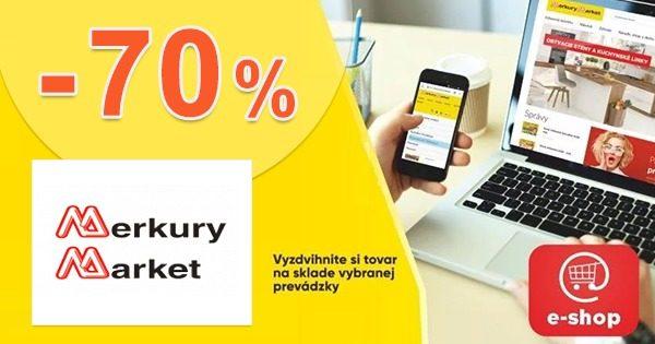 ZIMNÝ VÝPREDAJ → Až do -70% na MerkuryMarket