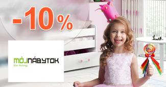 ZĽAVA -10% → NA DETSKÉ IZBY na MojNabytok.sk