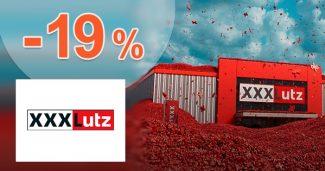 ZĽAVA -19% → NA TAKMER VŠETKO na XXXLutz.sk