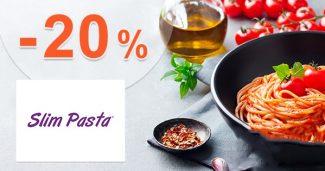 ZĽAVA -20% → EXTRA NAVYŠE na SlimPasta.sk