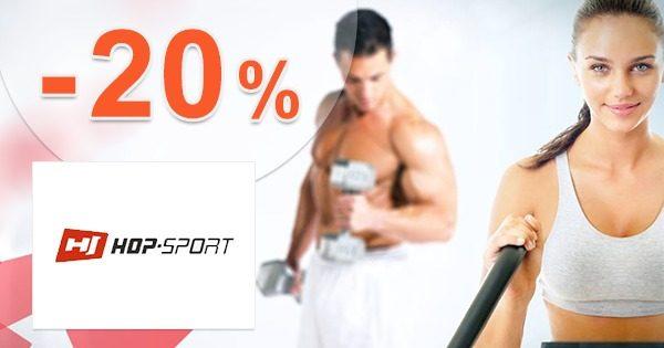 ZĽAVA -20% → NA TRAMPOLÍNY na Hop-Sport.sk