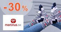 ZĽAVA -30% na ponožky Fusakle na Martinus.sk