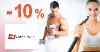ZĽAVOVÝ KÓD → -10% EXTRA ZĽAVA na Hop-Sport