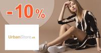 ZĽAVOVÝ KÓD → -10% ZĽAVA na UrbanStore.sk