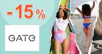 ZĽAVOVÝ KÓD → -15% ZĽAVA NA VŠETKO z GATE