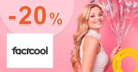 ZĽAVOVÝ KÓD → -20% NA VŠETKO na FactCool.sk