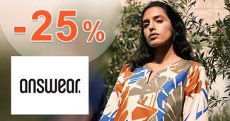 ZĽAVOVÝ KÓD → -25% NA VŠETKO na Answear.sk