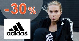ZĽAVOVÝ KÓD → -30% EXTRA ZĽAVA na Adidas.sk