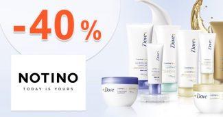 ZĽAVOVÝ KÓD → -40% na značku Dove z Notino.sk