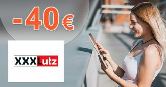 ZĽAVOVÝ KÓD → -40€ EXTRA ZĽAVA z XXXLutz.sk
