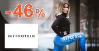 ZĽAVOVÝ KÓD → -46% ZĽAVA na MyProtein.sk