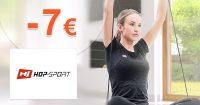 ZĽAVOVÝ KÓD → -7€ NA VŠETKO na Hop-Sport.sk