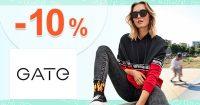 ZĽAVOVÝ KÓD → -10% ZĽAVA v eshope GATE