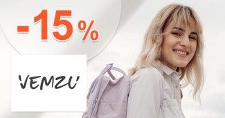 ZĽAVOVÝ KÓD → -15% EXTRA ZĽAVA na Vemzu.sk