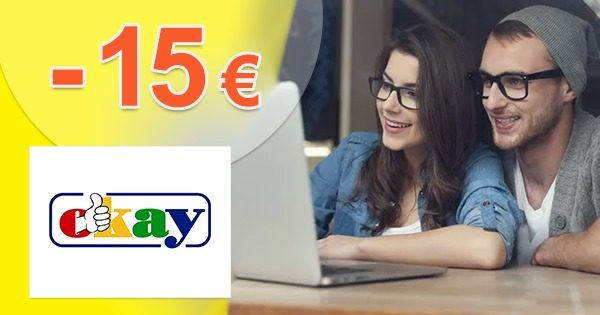 ZĽAVOVÝ KÓD → -15€ ZĽAVA NAVYŠE na Okay.sk
