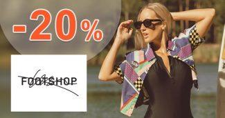 ZĽAVOVÝ KÓD → -20% ZĽAVA EXTRA na FootShop