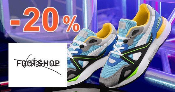 ZĽAVOVÝ KÓD → -20% ZĽAVA NA ZNAČKU PUMA na FootShop.sk