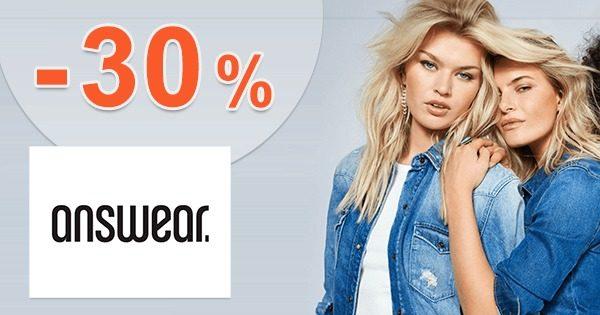 ZĽAVOVÝ KÓD → -30% NA DŽÍNSY na Answear.sk