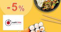 ZĽAVOVÝ KÓD → -5% ZĽAVA na SushiTime.sk