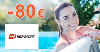 ZĽAVY AŽ DO -80€ → NA BAZÉNY na Hop-Sport.sk