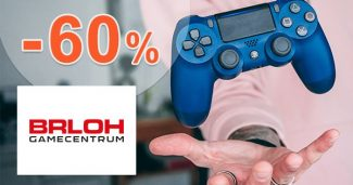 ZĽAVY až -60% na PLAYSTATION HRY na Brloh.sk