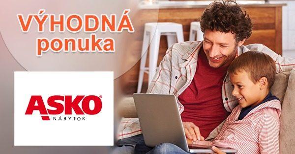 ZĽAVY až do -1400€ v e-shope ASKO-nabytok.sk