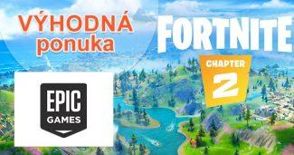Hra Fortnite 2. kapitola zdarma na EpicGames.com