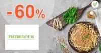 Zdravá výživa v akcii až -60% zľavy na PreZdravie.sk