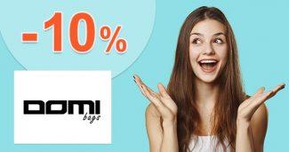 Zľava -10% za odber emailov na DomiBags.cz