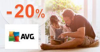 Zľava -20% na produkty pre podniky na AVG.com