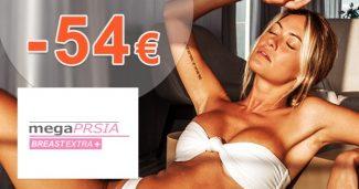 Zľava -54,88€ na balíček Diamant na MegaPrsia.sk