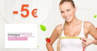 Zľava -5,98€ na balíček Štandard na MegaPrsia.sk