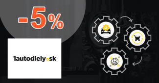 Zl'ava až -5% na ďalší nákup na 1autodiely.sk