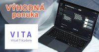 Zľava na ročné predplatné online kurzov na Vita.sk