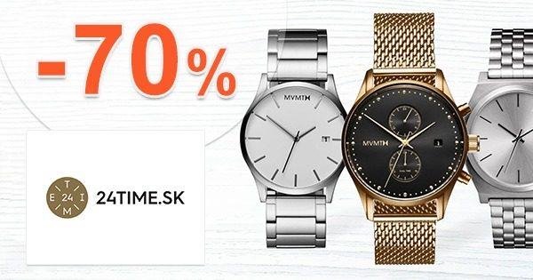 Zľavnený sortiment až do -70% zľavy na 24time.sk