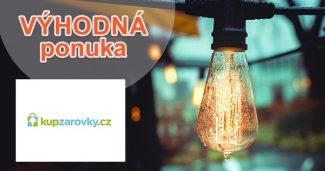 Zľavové akcie a akčné ceny na KupZarovky.cz