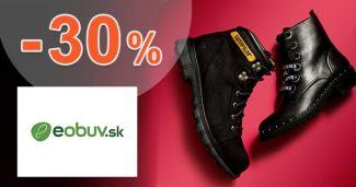 Zľavový kód až do -30% EXTRA ZĽAVA na eObuv.sk