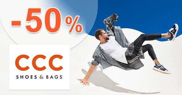 Zľavový kód do -50% na značkovú obuv na CCC.eu